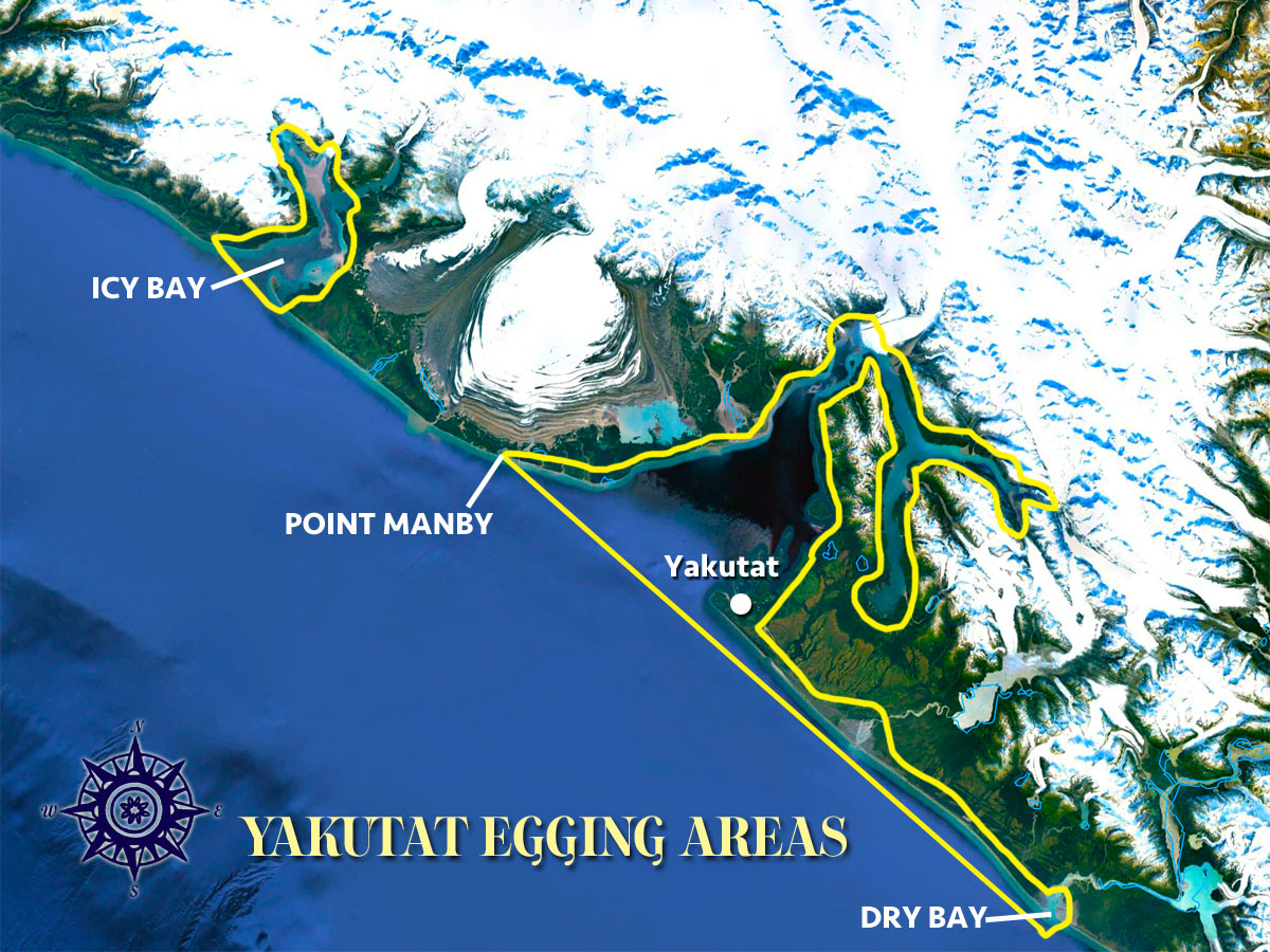 Yakutat Egging Area